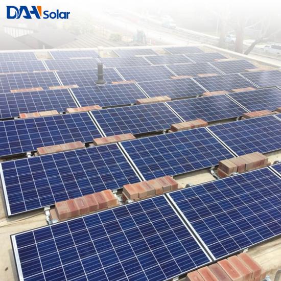 d83990163188c Sistema solar fotovoltaico de planta de energía solar de 150 KW comercial